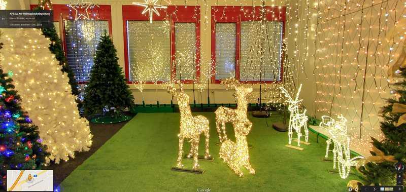 Weihnachtsbeleuchtung Rundgang durch die Ausstellung der Weihnachtslichter von APESA AG Steinackerstrasse 35 CH-8902 Urdorf