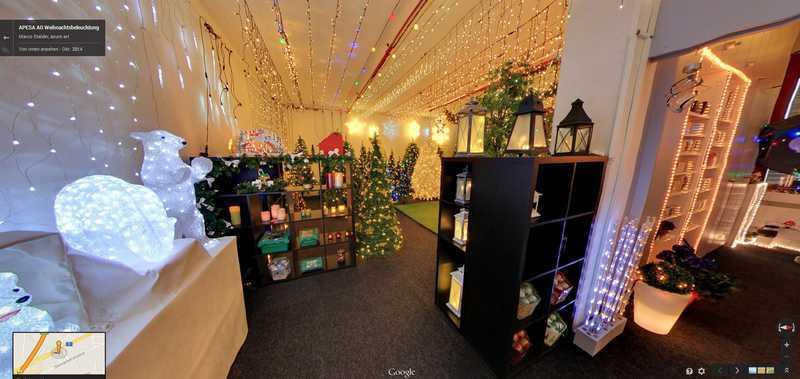 Klicke auf das Bild und Du bist direkt in der Ausstellung über Weihnachtsbeleuchtung